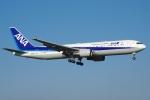 zettaishinさんが、成田国際空港で撮影した全日空 767-381/ERの航空フォト(写真)