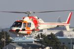 TRdenさんが、名古屋飛行場で撮影した朝日航洋 AS355F Ecureuil 2の航空フォト(写真)
