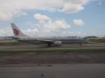 ken1☆MYJさんが、那覇空港で撮影した中国国際航空 737-86Nの航空フォト(写真)