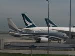 職業旅人さんが、香港国際空港で撮影したケイマン諸島企業所有 737-7JW BBJの航空フォト(写真)