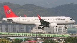 空軍一號さんが、台北松山空港で撮影したトランスアジア航空 A320-232の航空フォト(写真)