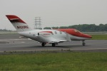 ピーチさんが、岡山空港で撮影したホンダ・エアクラフト・カンパニー HA-420の航空フォト(写真)