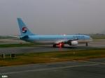妄想竹さんが、金海国際空港で撮影した大韓航空 737-9B5の航空フォト(写真)