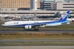 Wings Flapさんが、羽田空港で撮影した全日空 777-281/ERの航空フォト(写真)