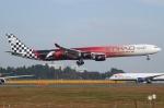 Wings Flapさんが、成田国際空港で撮影したエティハド航空 A340-642Xの航空フォト(写真)