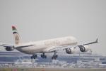 ムネキンさんが、成田国際空港で撮影したエティハド航空 A340-642Xの航空フォト(写真)