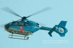 かみきりむしさんが、名古屋飛行場で撮影した福岡県警察 EC135P2+の航空フォト(写真)