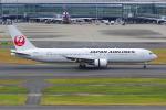 PASSENGERさんが、羽田空港で撮影した日本航空 767-346/ERの航空フォト(写真)