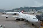 妄想竹さんが、香港国際空港で撮影した南アフリカ航空 A340-313Xの航空フォト(写真)