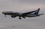 木人さんが、成田国際空港で撮影した全日空 777-281/ERの航空フォト(写真)