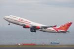 くるくもるさんが、羽田空港で撮影したエア・インディア 747-437の航空フォト(写真)
