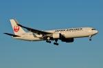 柏の子?さんが、成田国際空港で撮影した日本航空 767-346/ERの航空フォト(写真)