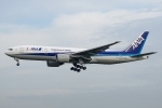 Ariesさんが、成田国際空港で撮影した全日空 777-281/ERの航空フォト(写真)