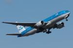 木人さんが、成田国際空港で撮影したKLMオランダ航空 777-206/ERの航空フォト(写真)