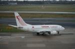 みっちゃんさんが、デュッセルドルフ国際空港で撮影したチュニスエア 737-6H3の航空フォト(写真)