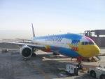 だいすけさんが、ニューアーク・リバティー国際空港で撮影したコンチネンタル航空 777-224/ERの航空フォト(写真)