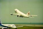 動物村猫君さんが、大分空港で撮影した日本航空 747-246Bの航空フォト(写真)
