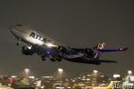 遠森一郎さんが、福岡空港で撮影したアトラス航空 747-446の航空フォト(写真)