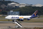 MOHICANさんが、福岡空港で撮影したアトラス航空 747-446の航空フォト(写真)