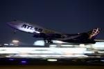tukkyさんが、福岡空港で撮影したアトラス航空 747-446の航空フォト(写真)