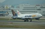 日向雪兎さんが、福岡空港で撮影したアトラス航空 747-446の航空フォト(写真)