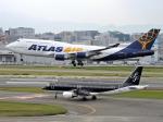 watakunさんが、福岡空港で撮影したアトラス航空 747-446の航空フォト(写真)