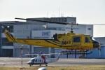 skyclearさんが、東京ヘリポートで撮影したアカギヘリコプター 204B-2(FujiBell)の航空フォト(写真)