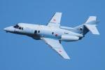 Tomo-Papaさんが、茨城空港で撮影した航空自衛隊 U-125A(Hawker 800)の航空フォト(写真)