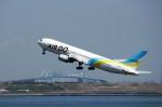 ハム太郎さんが、羽田空港で撮影したAIR DO 767-381の航空フォト(写真)