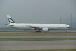 krozさんが、香港国際空港で撮影したキャセイパシフィック航空 777-367/ERの航空フォト(写真)