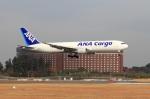 レンタくんさんが、成田国際空港で撮影した全日空 767-381/ER(BCF)の航空フォト(写真)