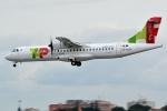 kansai-spotterさんが、リスボン・ポルテーラ空港で撮影したホワイト・エアウェイズ ATR-72-600の航空フォト(写真)