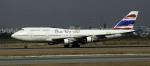 planetさんが、スワンナプーム国際空港で撮影したオリエント・タイ航空 747-146B/SR/SUDの航空フォト(写真)