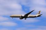 夏奈さんが、成田国際空港で撮影したエティハド航空 787-9の航空フォト(写真)