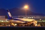 M.Mさんが、松山空港で撮影した全日空 777-281の航空フォト(写真)