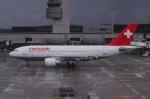 Yossy96さんが、チューリッヒ空港で撮影したスイス航空 A310-322の航空フォト(写真)