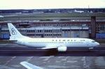 Yossy96さんが、フランクフルト国際空港で撮影したオリンピック航空 737-4Q8の航空フォト(写真)