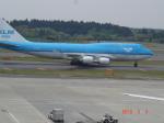 エアキヨさんが、成田国際空港で撮影したKLMオランダ航空 747-406Mの航空フォト(写真)