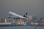 poppoya-makochanさんが、羽田空港で撮影したルフトハンザドイツ航空 747-230Bの航空フォト(写真)