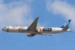 安芸あすかさんが、成田国際空港で撮影した全日空 777-381/ERの航空フォト(写真)