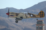 チャッピー・シミズさんが、ネリス空軍基地で撮影したアメリカ空軍 P-40N Warhawkの航空フォト(写真)