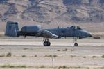 チャッピー・シミズさんが、ネリス空軍基地で撮影したアメリカ空軍 A-10A Thunderbolt IIの航空フォト(写真)