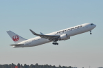 unknownさんが、成田国際空港で撮影した日本航空 767-346/ERの航空フォト(写真)