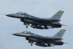 toshirouさんが、新田原基地で撮影したアメリカ空軍 F-16CM-50-CF Fighting Falconの航空フォト(写真)