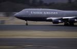 planetさんが、成田国際空港で撮影したユナイテッド航空 747-422の航空フォト(写真)
