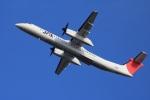 クリューさんが、鹿児島空港で撮影した日本エアコミューター DHC-8-402Q Dash 8の航空フォト(写真)