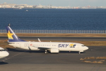 ジャンクさんが、羽田空港で撮影したスカイマーク 737-8HXの航空フォト(写真)