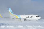 くーぺいさんが、新千歳空港で撮影したAIR DO 737-781の航空フォト(写真)