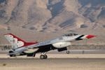 チャッピー・シミズさんが、ネリス空軍基地で撮影したアメリカ空軍 F-16CM-52-CF Fighting Falconの航空フォト(写真)