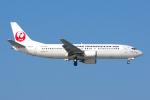 PASSENGERさんが、那覇空港で撮影した日本トランスオーシャン航空 737-4Q3の航空フォト(写真)